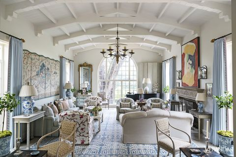 Image James Merrell Spanish Colonial Living Room