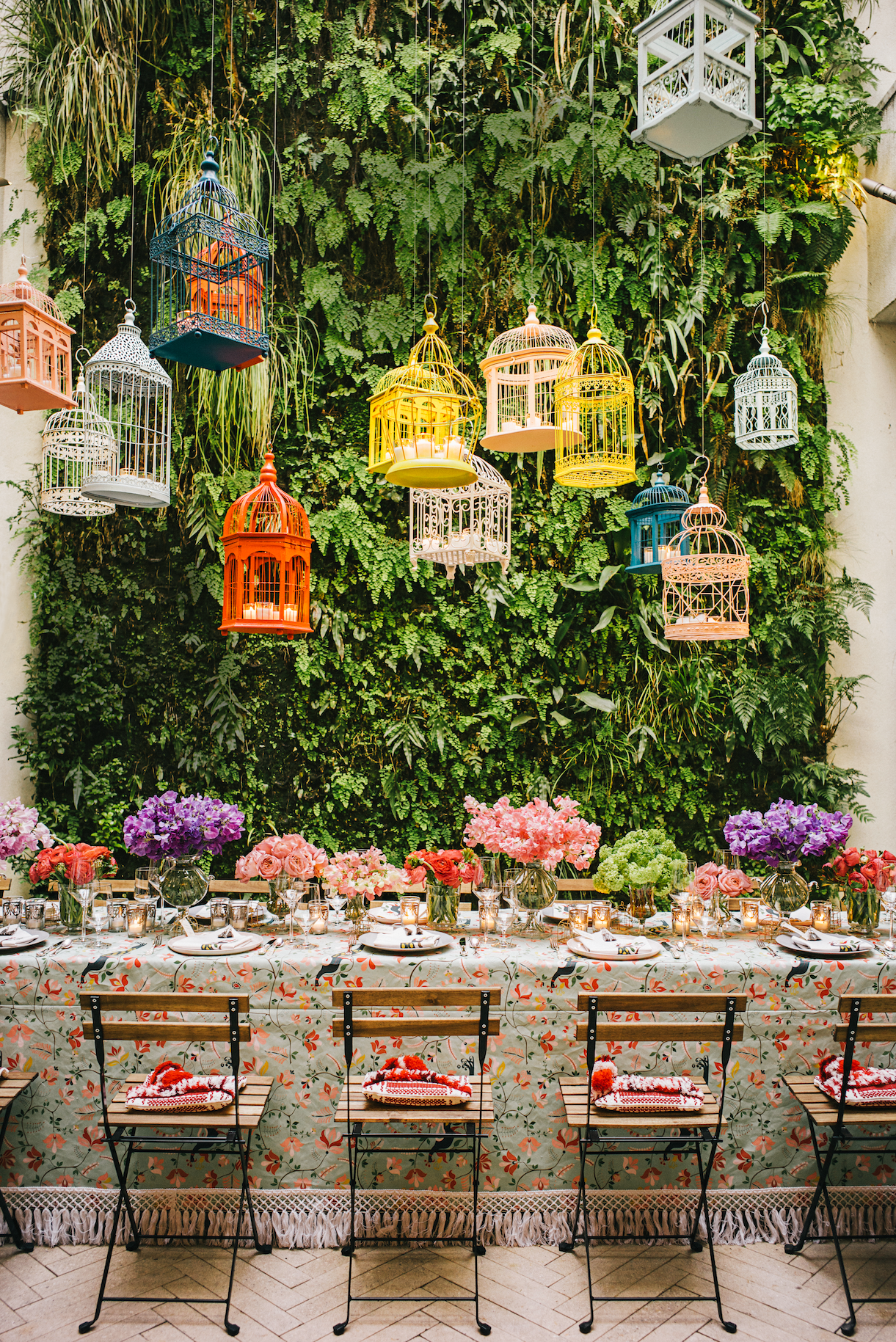 The Patterned Tablecloth is Back — and It's Better Than Ever