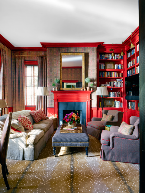 branca home library veranda