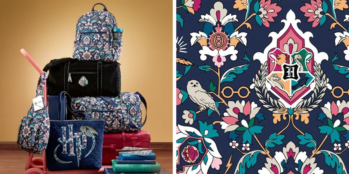 Vera Bradley's 'Harry Potter' Collection Is Back With New Bags and Accessories