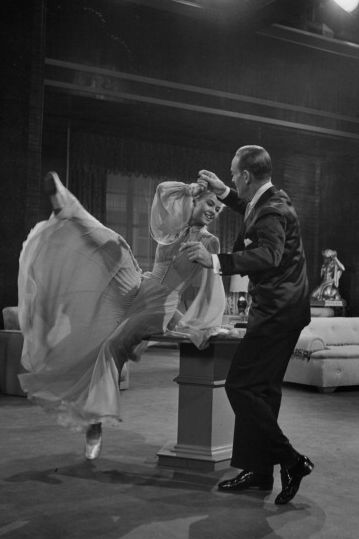 vera ellen and fred astaire in 'three little words'