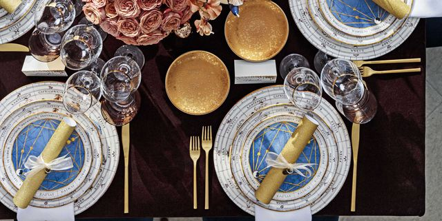 Entertaining Master Stephanie Booth Shafran Brings Zodiac-Filled Fun to Her New Year's Dinner Party