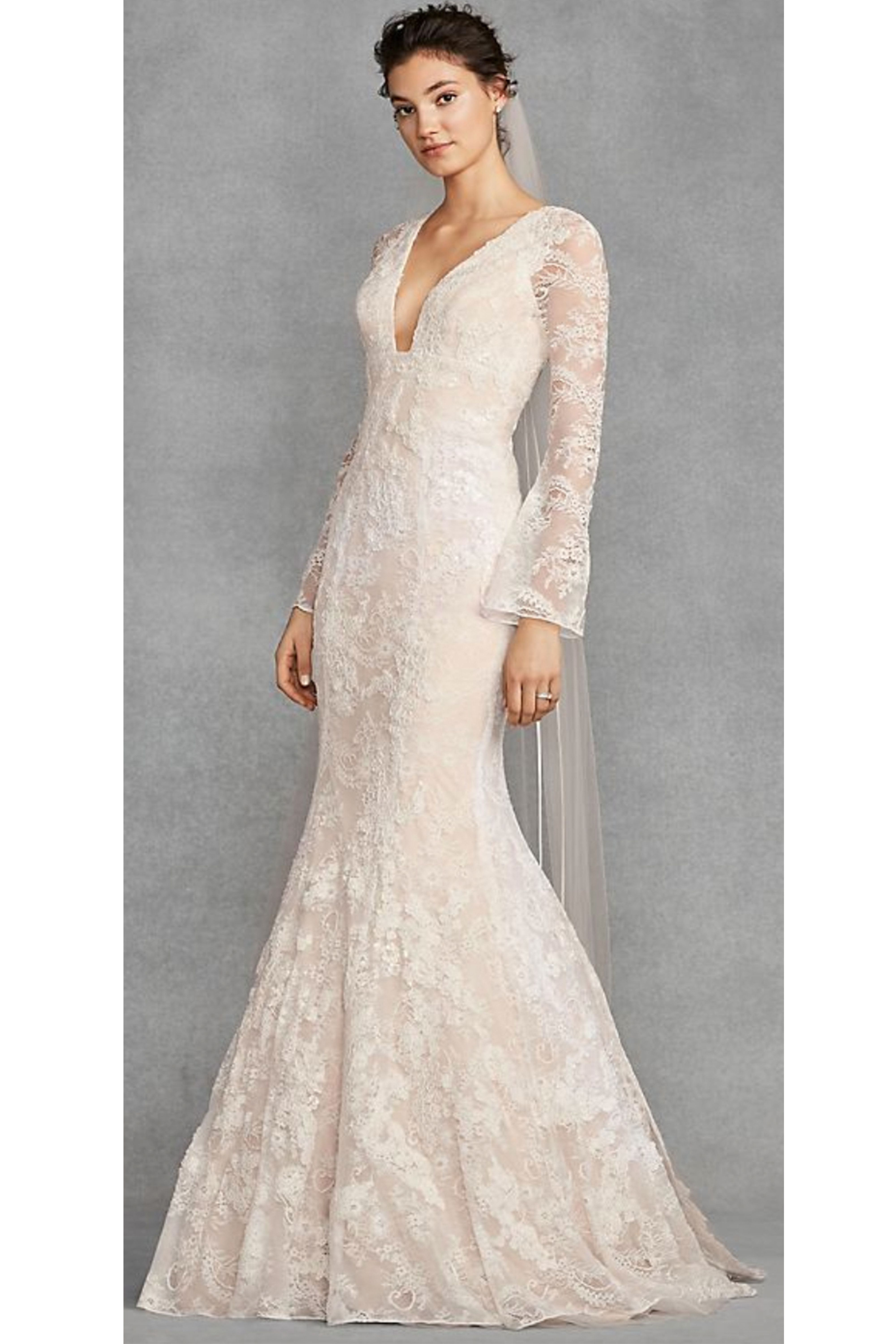 14 Long Sleeve Wedding Dresses Designer Wedding Gowns With Sleeves