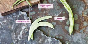 Verduras de vaina