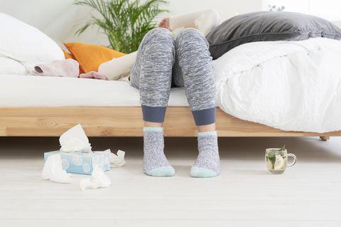 Kan je gaan hardlopen als je verkouden bent?