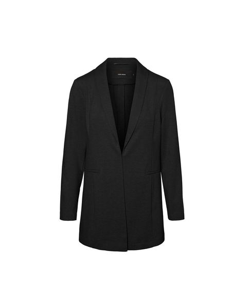 Clothing, Outerwear, Blazer, Black, Jacket, Suit, Sleeve, Formal wear, Coat, Collar,