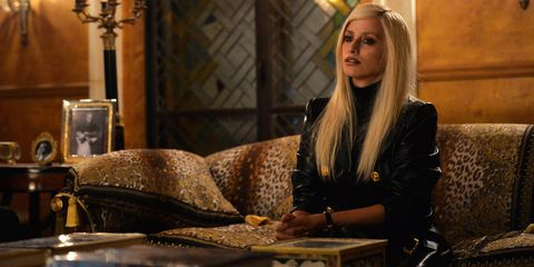 Blond, Sitting, Long hair,