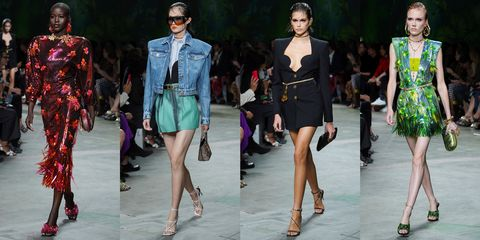 Fashion model, Fashion, Clothing, Fashion show, Runway, Footwear, Fashion design, Shoulder, Shorts, Shoe,