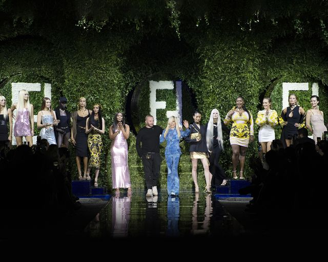 milano fashion week 2021 versace fendi