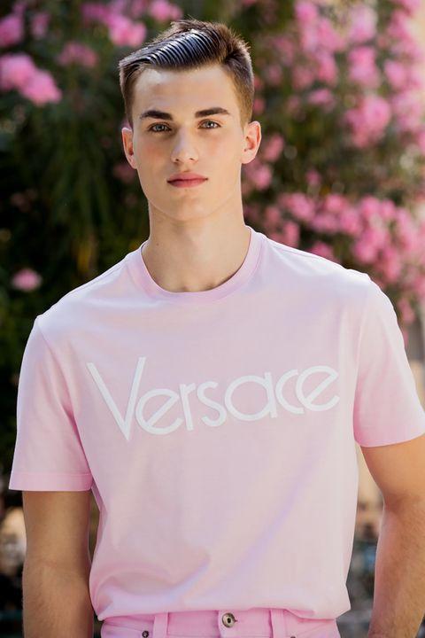 Pink, T-shirt, Clothing, White, Beauty, Product, Skin, Sleeve, Fashion, Lip,
