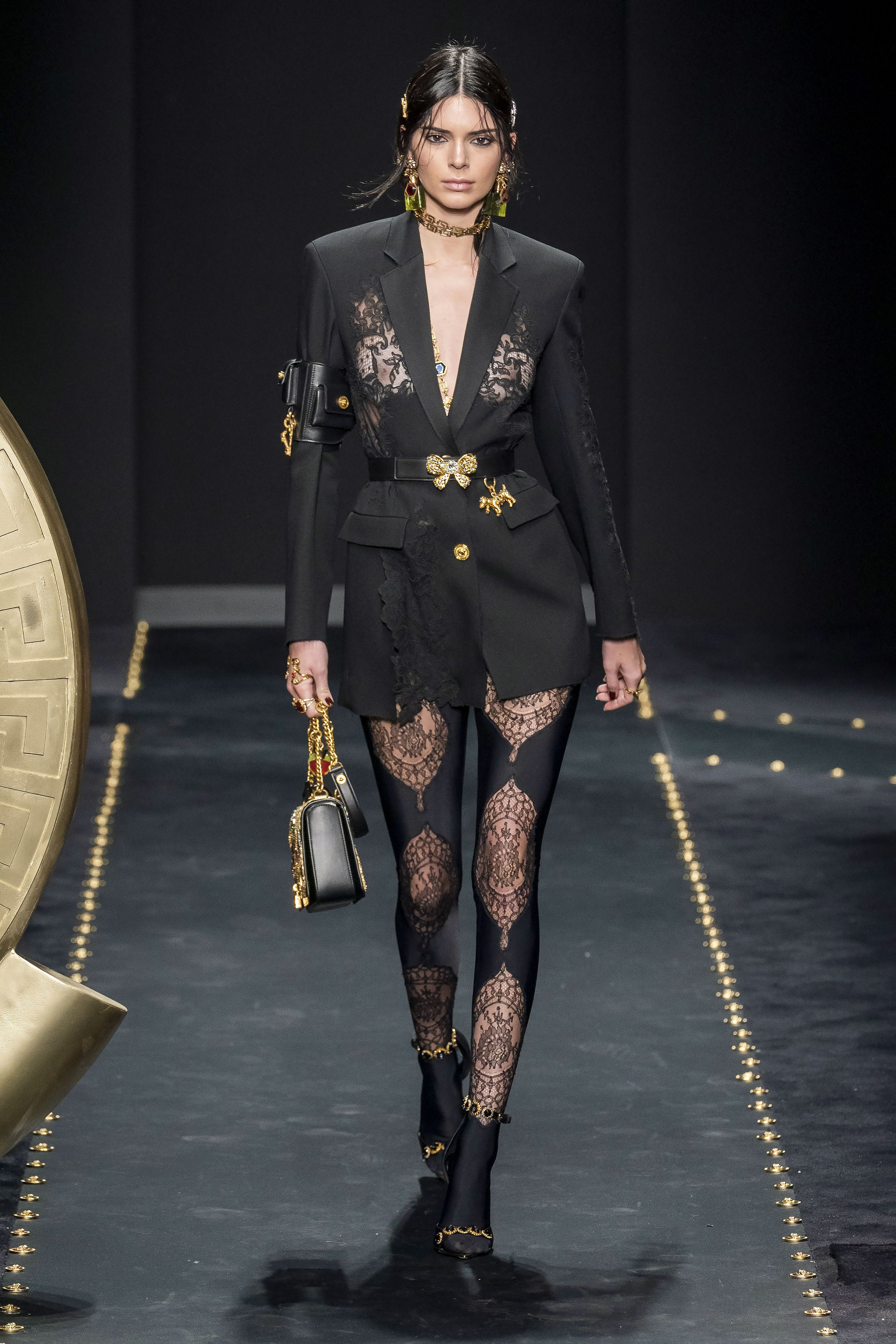 Kendall Jenner AW19 Versace