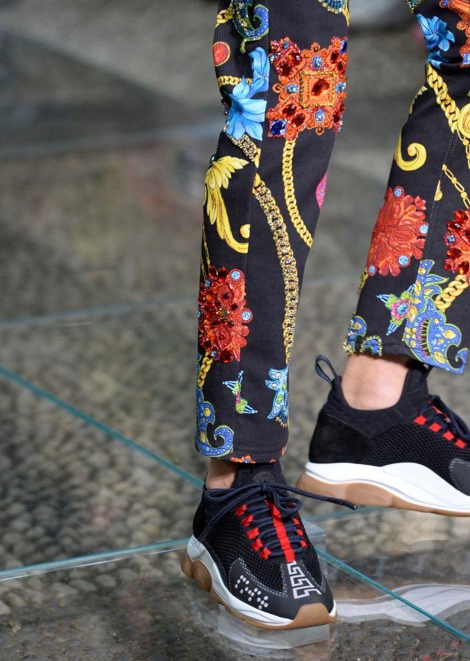 Versace Chain Reaction, las zapatillas de las que todo el