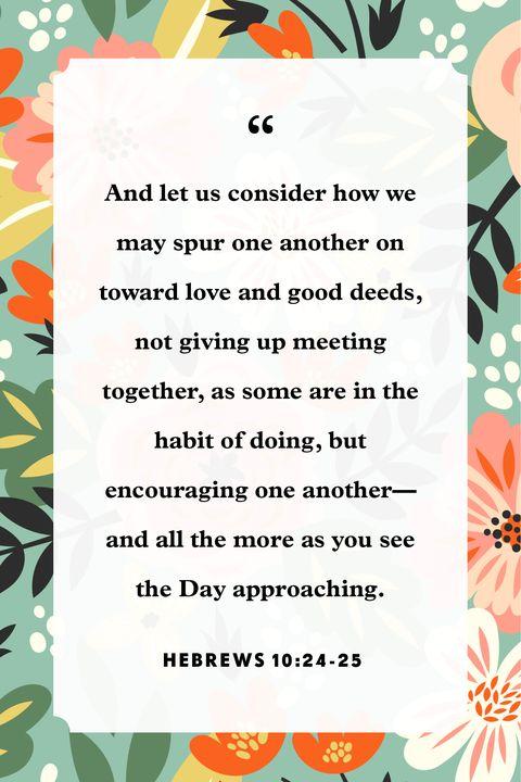 verses about encouragement