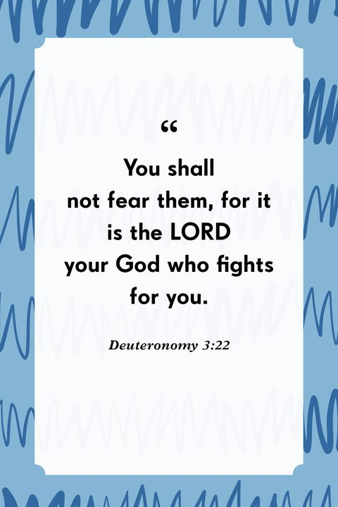 verses about fear