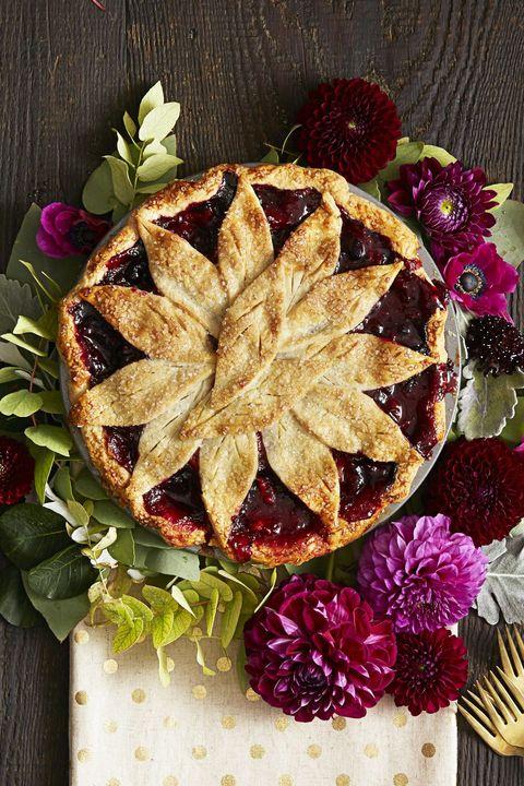 Very Berry Apple Pie - Christmas Desserts