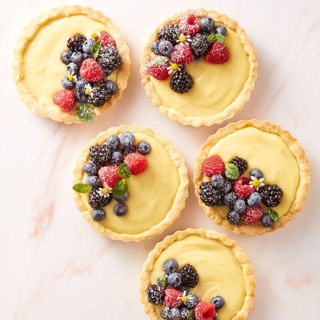 very berry cream tartlets