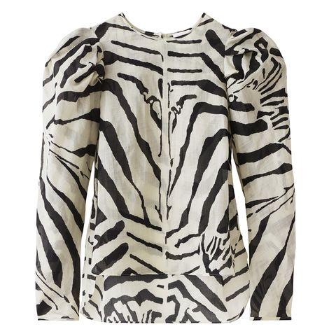 Sleeve, Pattern, Collar, Neck, Beige, Pattern, Fur, Active shirt, Natural material,