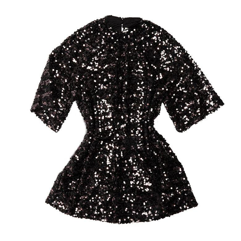 Vestido de Nochevieja de H&M.