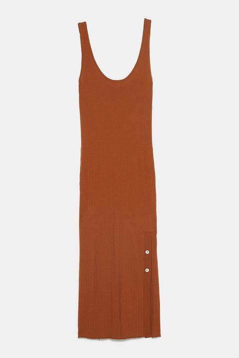 vestidos midi Zara