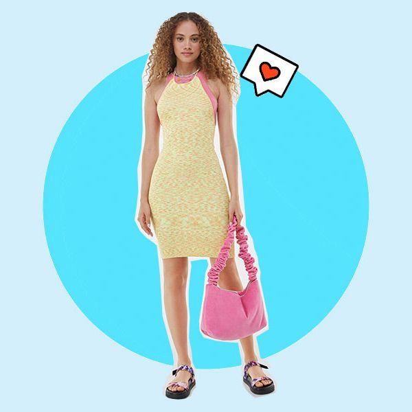 vestido de verano de la nueva colección de bershka
