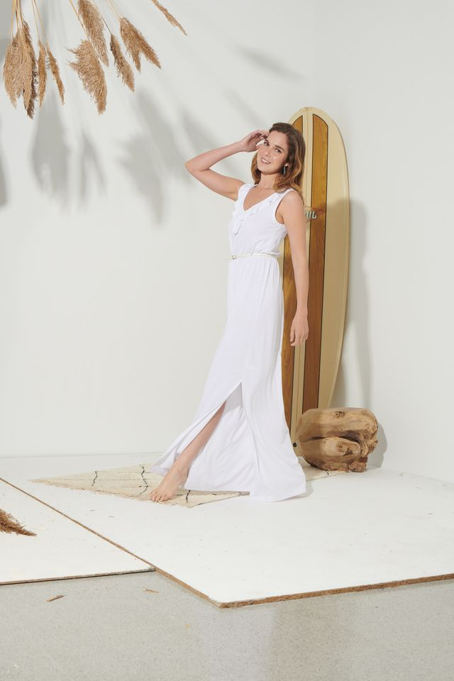 lidl vestido blanco