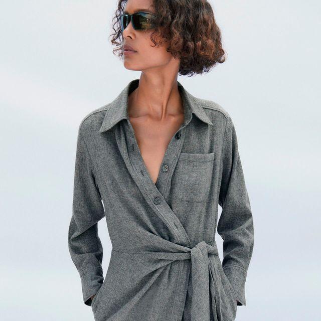 el vestido camisero de otoño invierno de zara de las estilistas