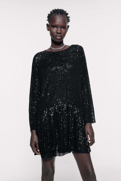 online para la venta para toda la familia atractivo y duradero Este vestido con lentejuelas de Zara es perfecto para Halloween
