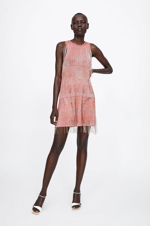 7f217c9f72 El vestido de fiesta corto en Zara primavera verano más increíble