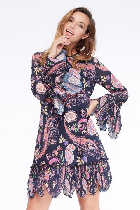 vestido niza hippie