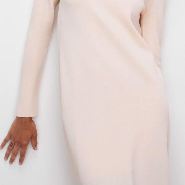 el vestido de punto edición limitada de zara de las prescriptoras