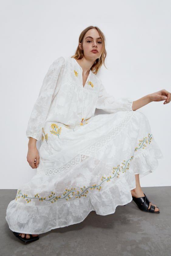 El vestido de Zara que llevarás a la playa y en tus paseos por la ciudad