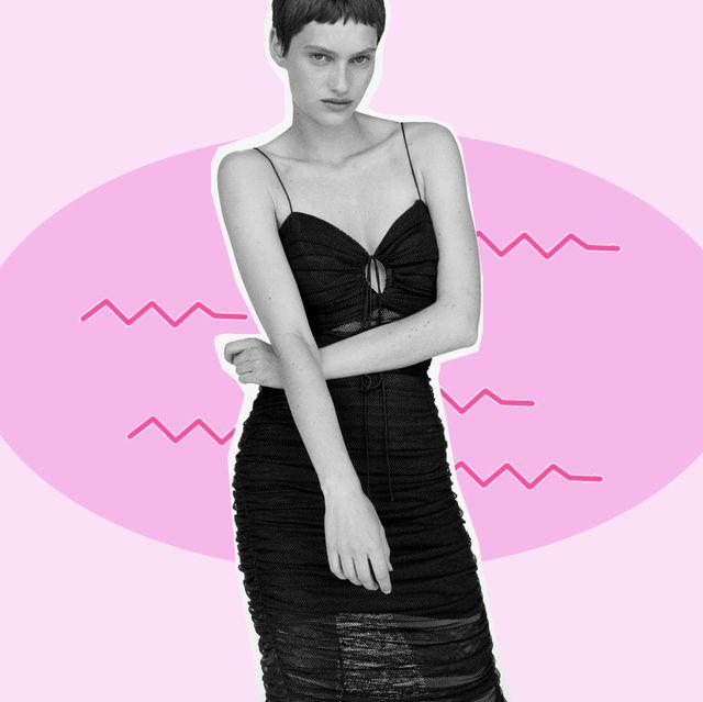 el vestido negro de zara que es igual que uno de dolce y gabbana