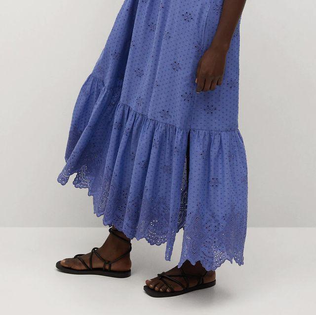 vestido de mango