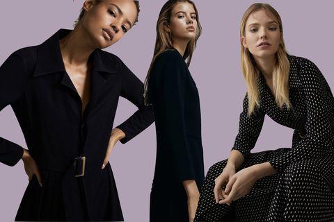 05b30480a 7 vestidos negros de Massimo Dutti que sí puedes ponerte para un ...