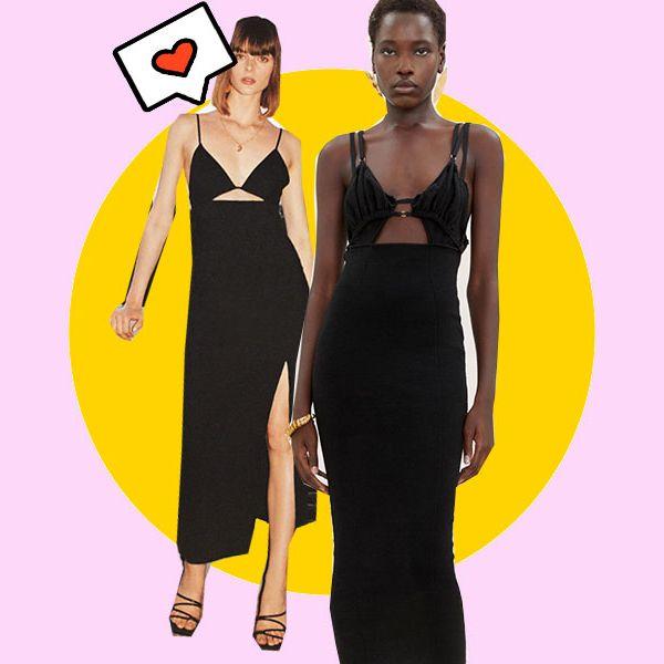 zara tiene el vestido negro de la temporada por 30 euros