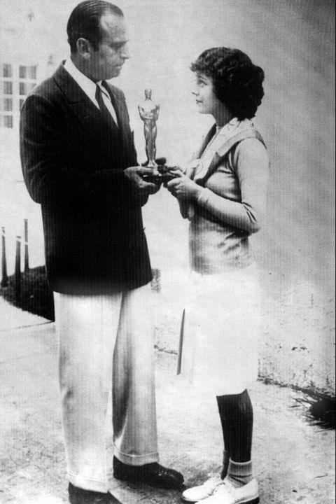 janet gaynor en los oscar 1929