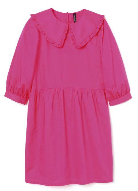 vestido rosa de hm