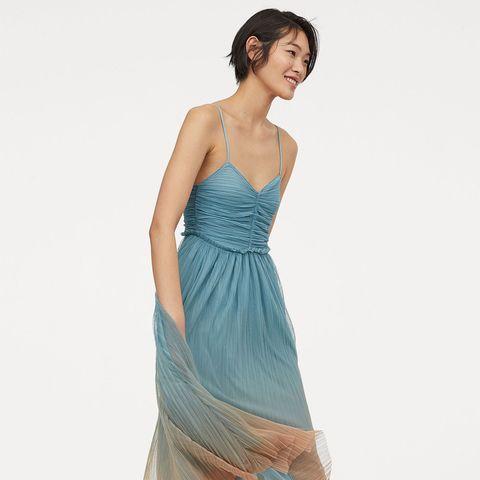 b72ccae852 El vestido de tul de H M para ser la invitada de boda de la que todos hablen