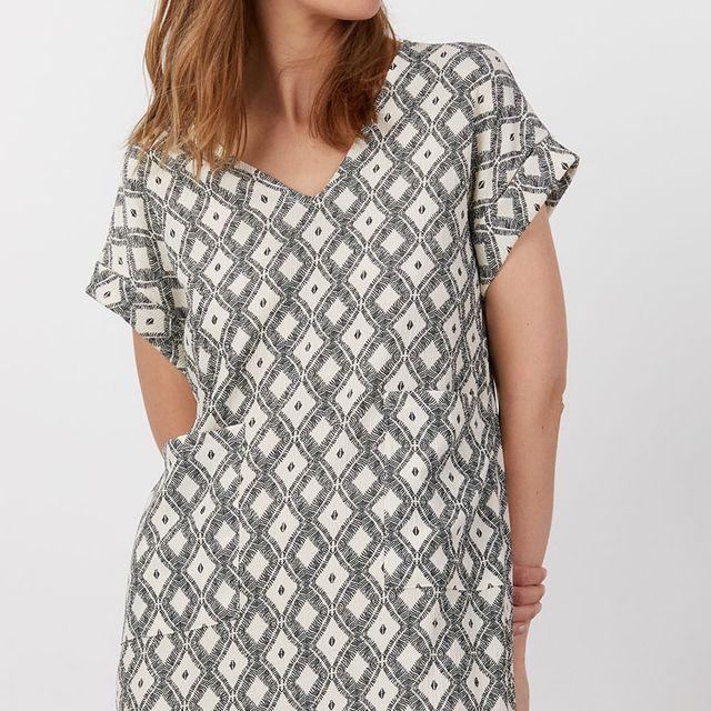 vestido tunica de sfera