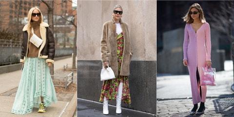 Clothing, White, Street fashion, Fashion, Pink, Dress, Fashion model, Outerwear, Footwear, Eyewear,