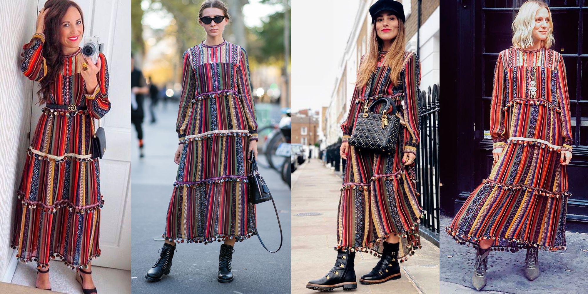 7efacd6e6 Este vestido de Zara se ha convertido en el favorito de Instagram  (Lovelypepa incluida)