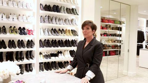 Vestidor de Kris Jenner