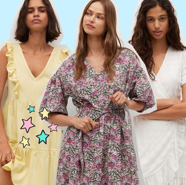 cinco vestidos de mango para este verano