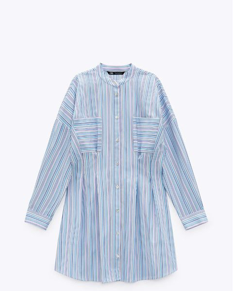 los vestidos camiseros más bonitos de zara