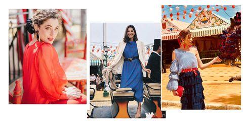 e78812011 Cómo vestirse en la Feria de Sevilla