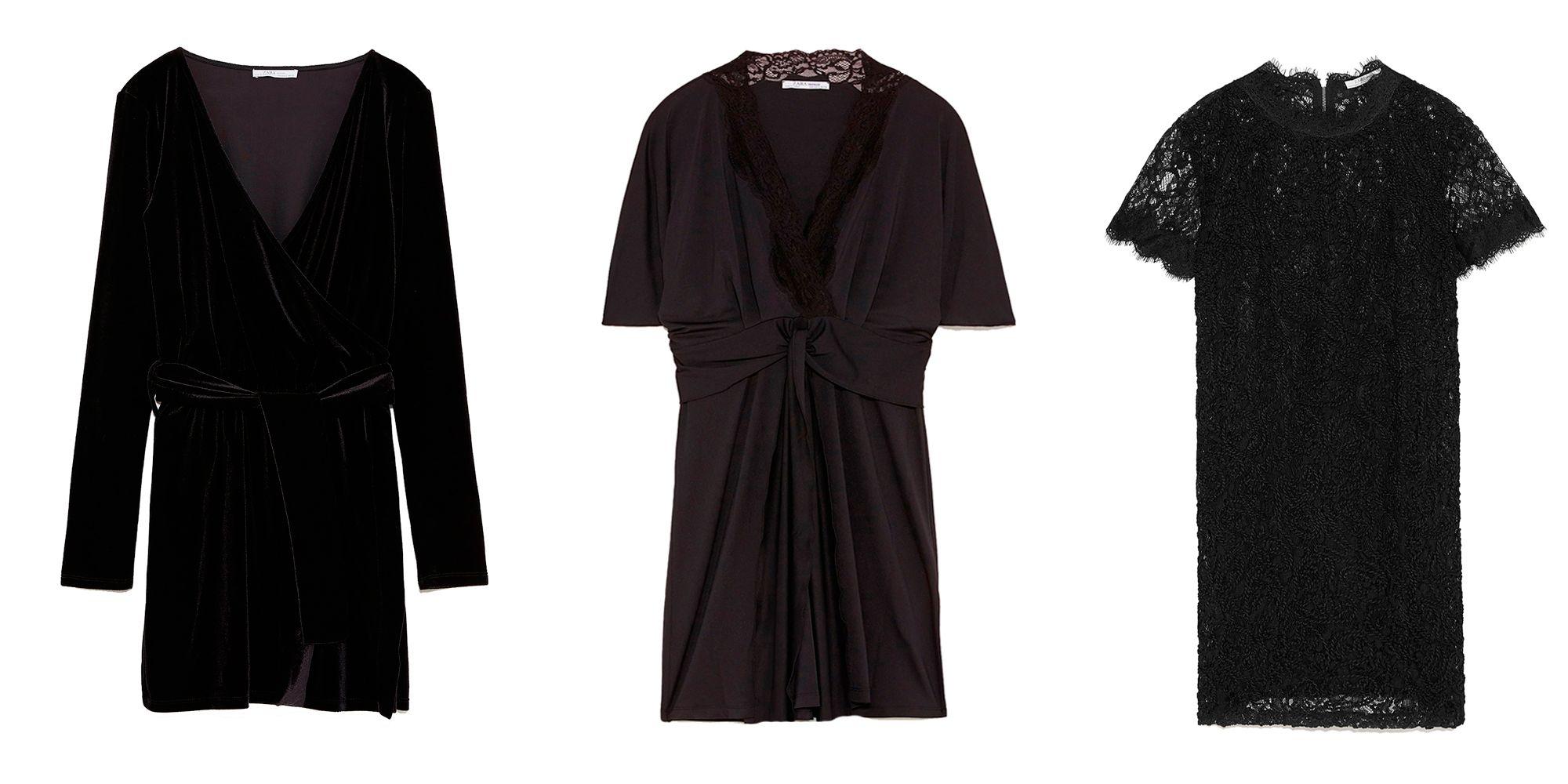 Zara tiene los vestidos negros de fiesta más bonitos por