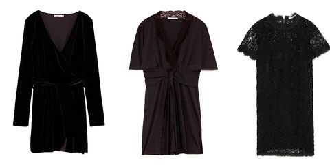 066c38cdd Zara tiene los vestidos negros de fiesta más bonitos por menos de 20 ...