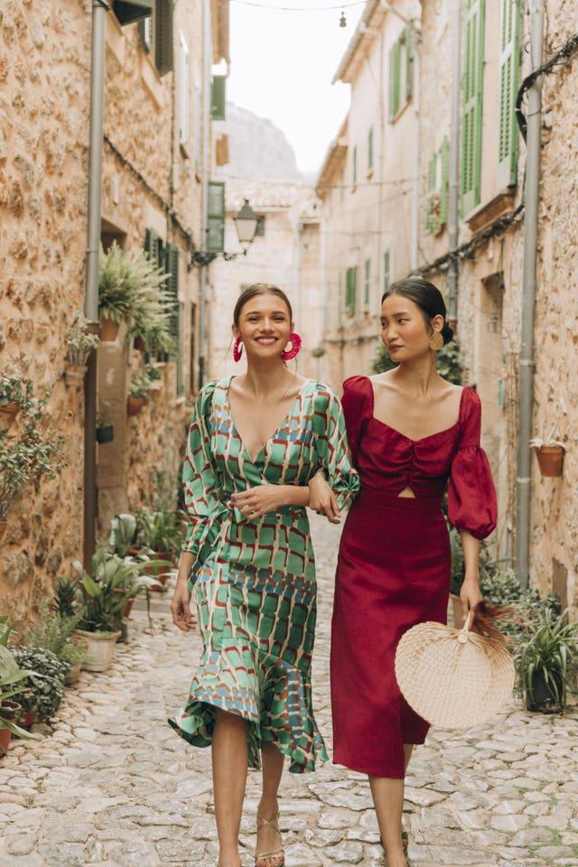 vestidos invitada moda española