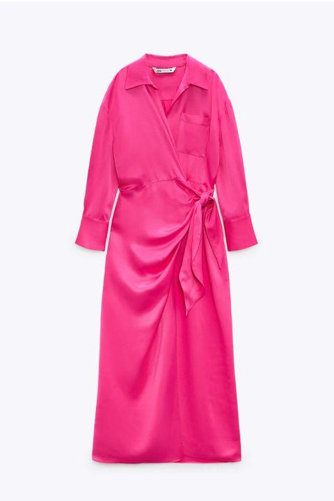 vestidos largos de zara para bajitas