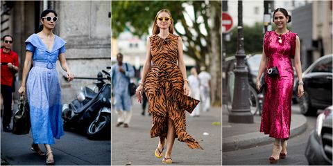 3ea71a9f4 Street Style Paris Haute Couture - Vestidos tendencia Paris Haute ...